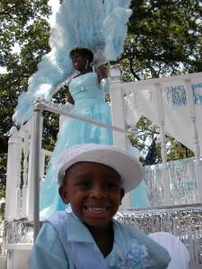 Parade after Hurricane Katrina