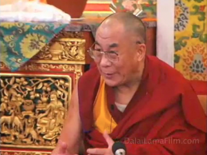 published under a Creative Commons Attribution 2.0 generic license, by dalailama.com